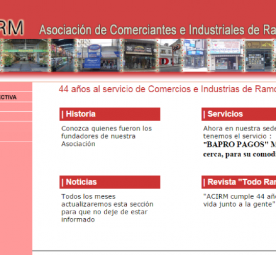 ACIRM | Asociación de Comerciantes e Industriales de Ramos Mejía