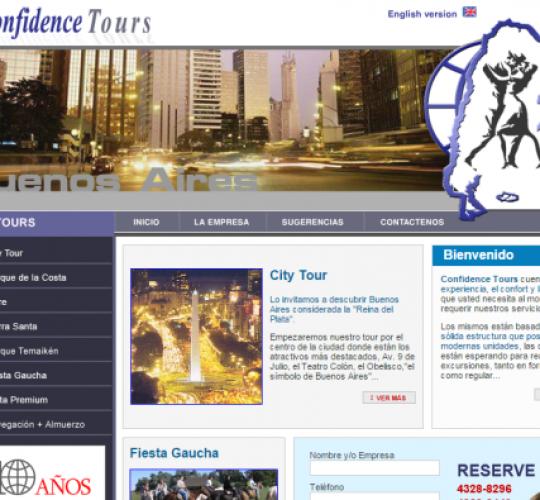 Confidence Tours
